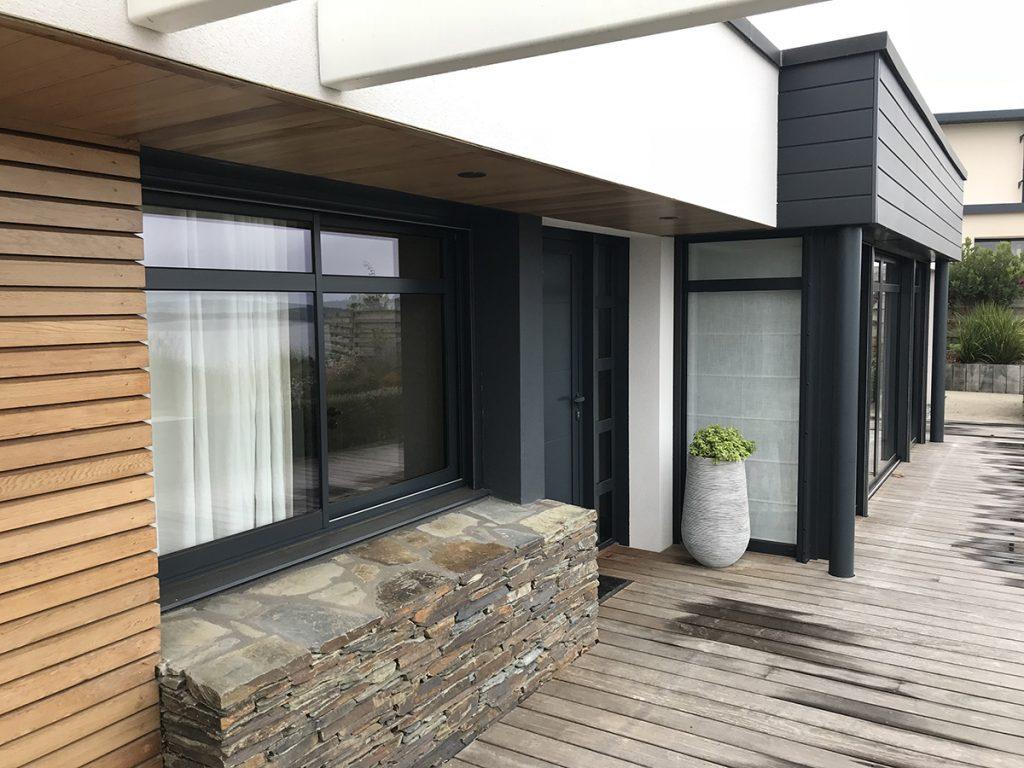 Maison neuve à Carantec conforme RT2012