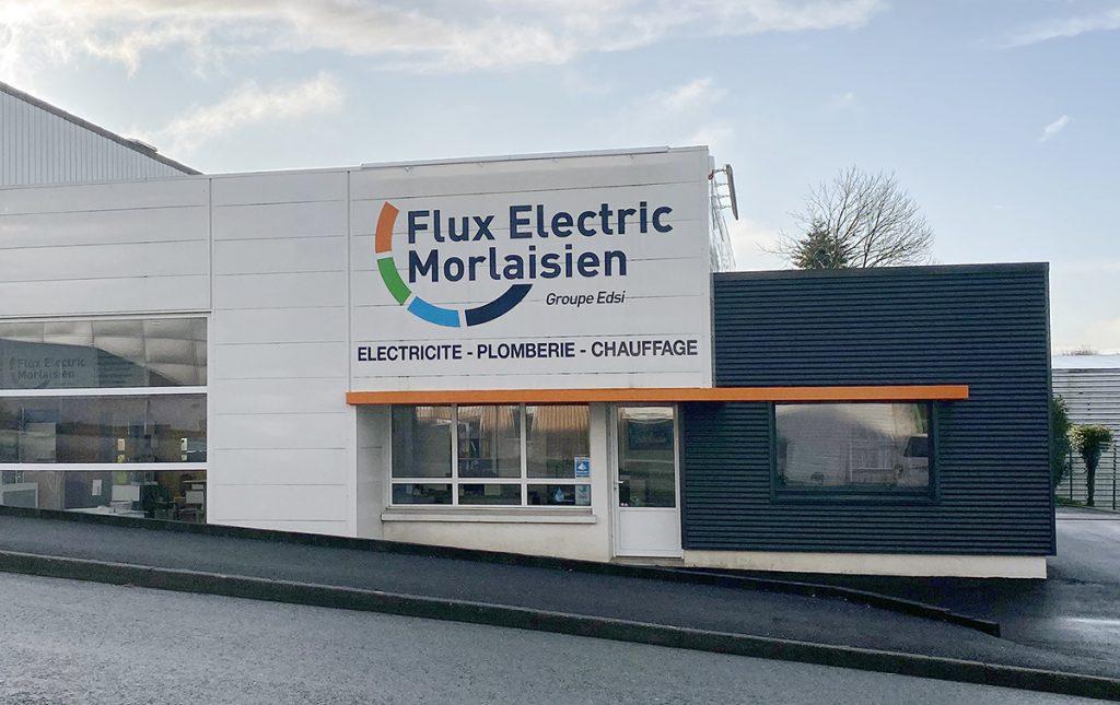 A Lamaisondubatiment Batimentcommercial Fluxelecmorlaisien Morlaix Bardagefacade