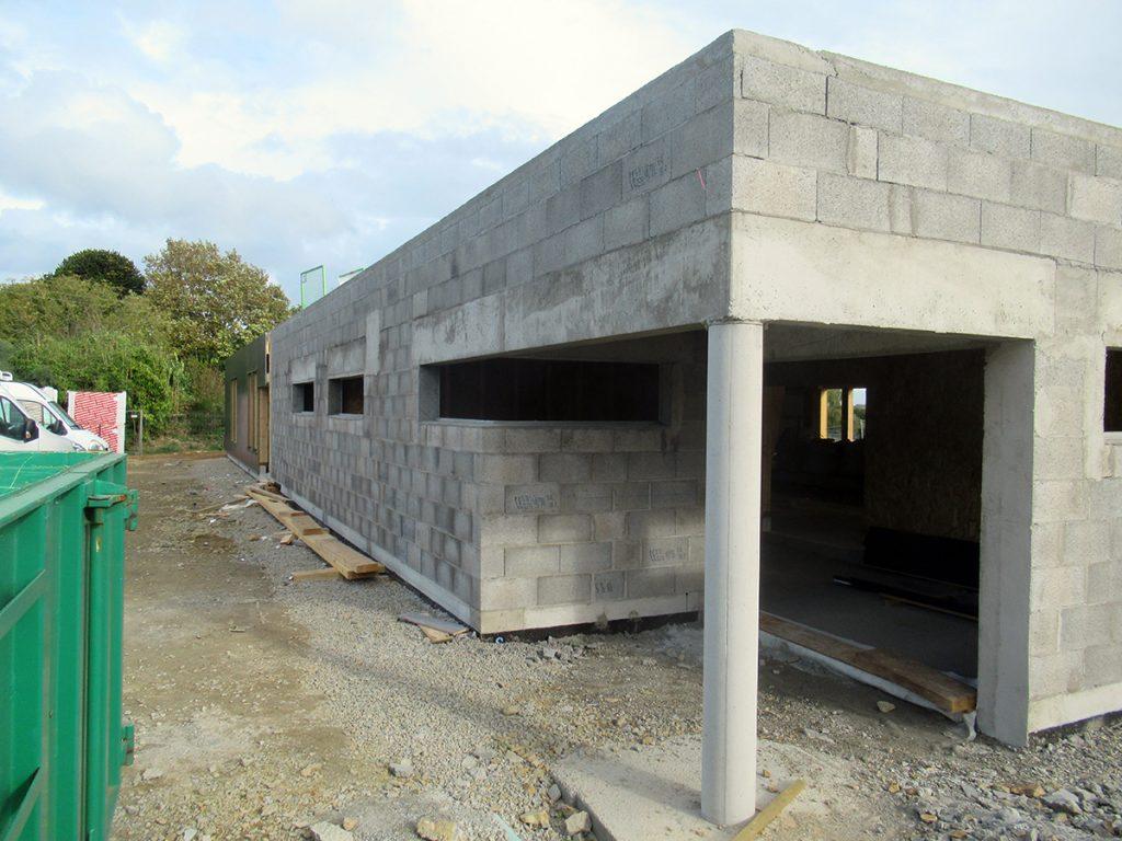 A2 Lamaisondubatiment Batimentpublic Plougasnou Muragglomereciment Constructionbouleplmbee
