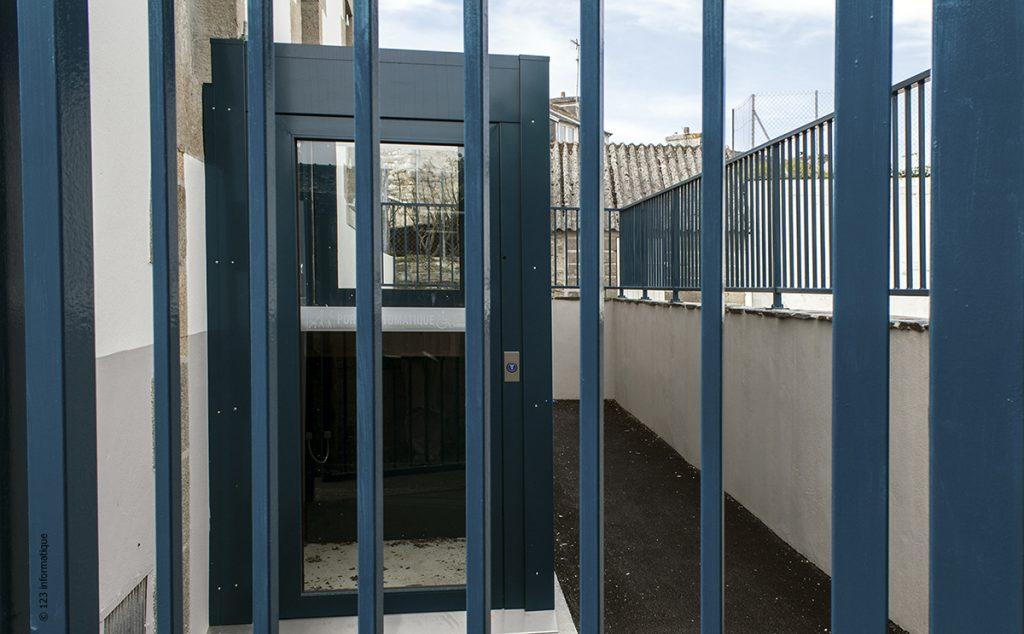 Lamaisondubatiment Batimentpublic Villedemorlaix Ecole Poanben Systemeelevateur