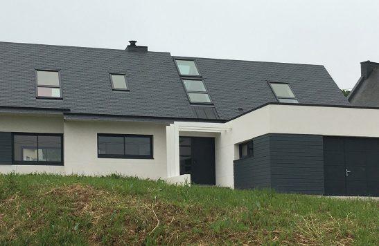 Construction d'une maison neuve à Locquirec conforme RT2012.