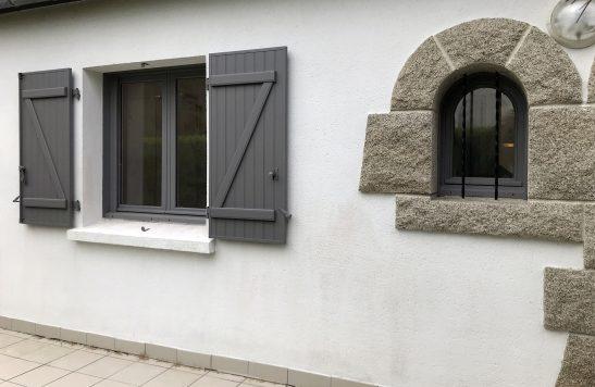 Maisondubatiment Renovation Carantec Menuiserieexterieuresaluminium